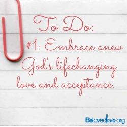 embrace God's lifechanging love