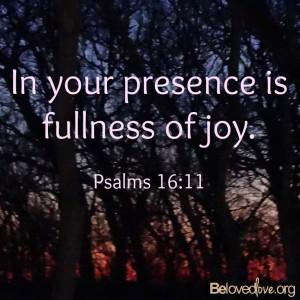 Joy of God's love