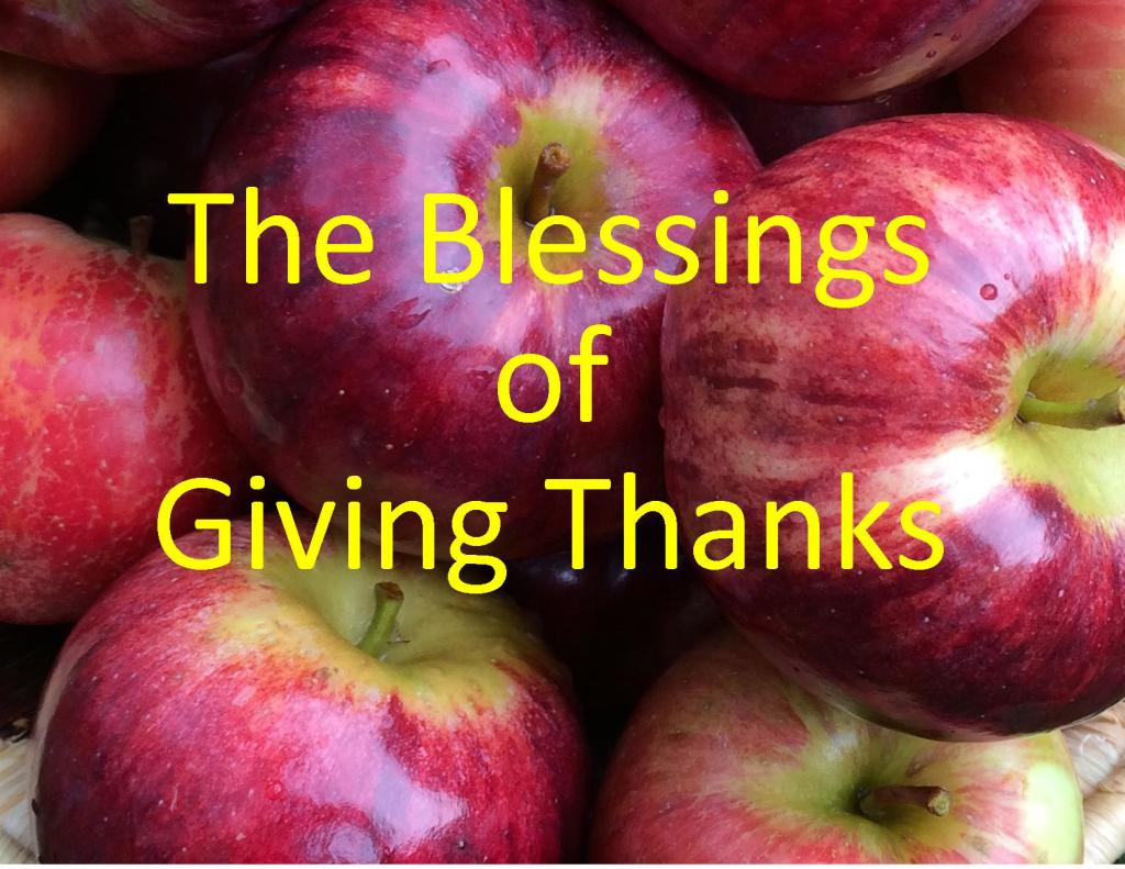 blessings of giving thanks title