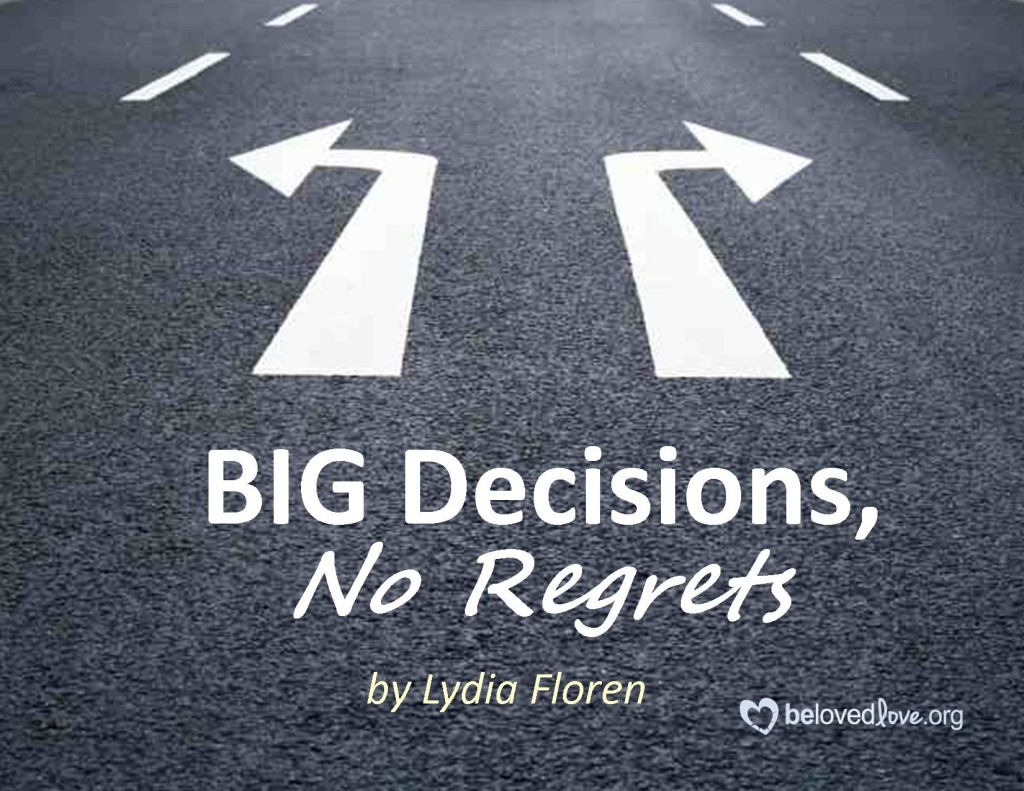 time to go making a decision to move The faster you can make a decision and move on, the better  and commit to  action, and you'll come to your own best decision every time.
