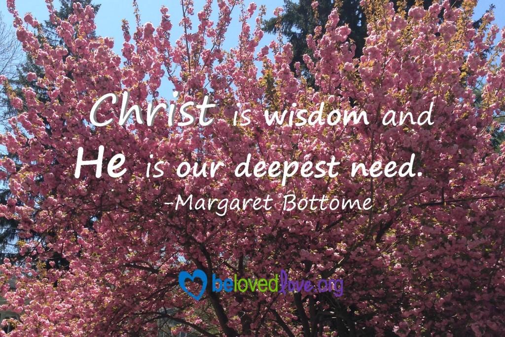 Christ is wisdom