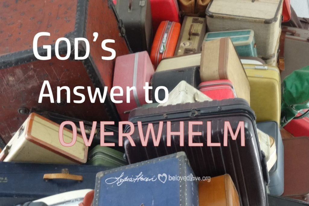 7:1:16 God's Answer to Overwhelm