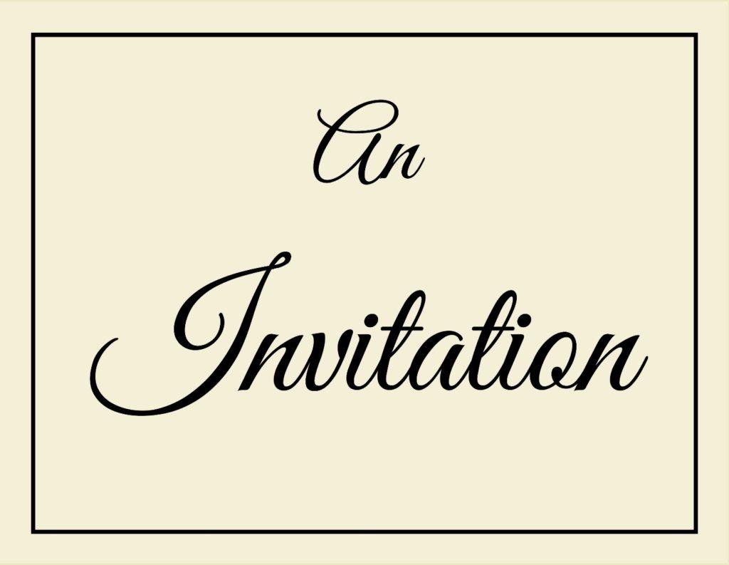 9:1:16 Invitation